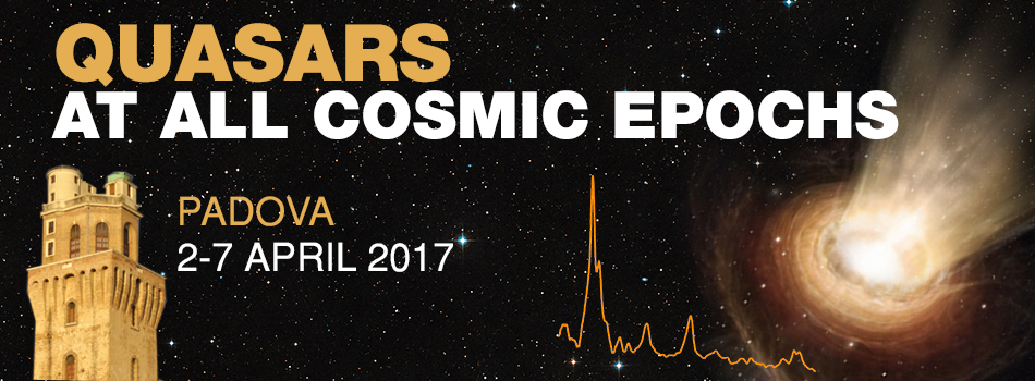 Quasars at all cosmic epochs