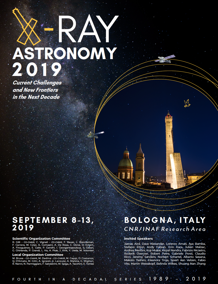 X-RAY ASTRONOMY 2019 (8-13 September 2019) · INDICO @ INAF (Indico)