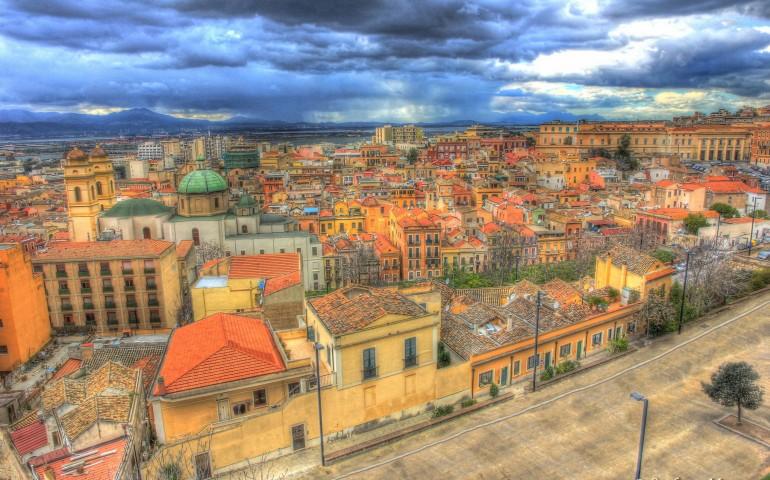 A beatiful image of Cagliari. Credits: Stefano Marrocu